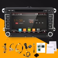 2 Din 7 Inch Quad Core Android 4 4 Car DVD Player GPS Navi PC For