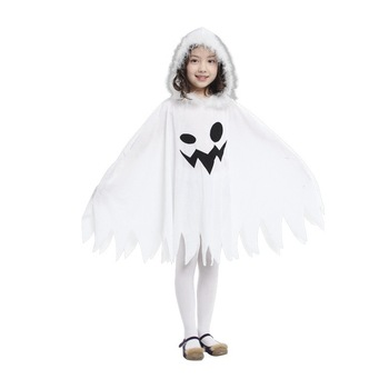 Child Kids Toddlers White Ghost Cloak Halloween Costumes