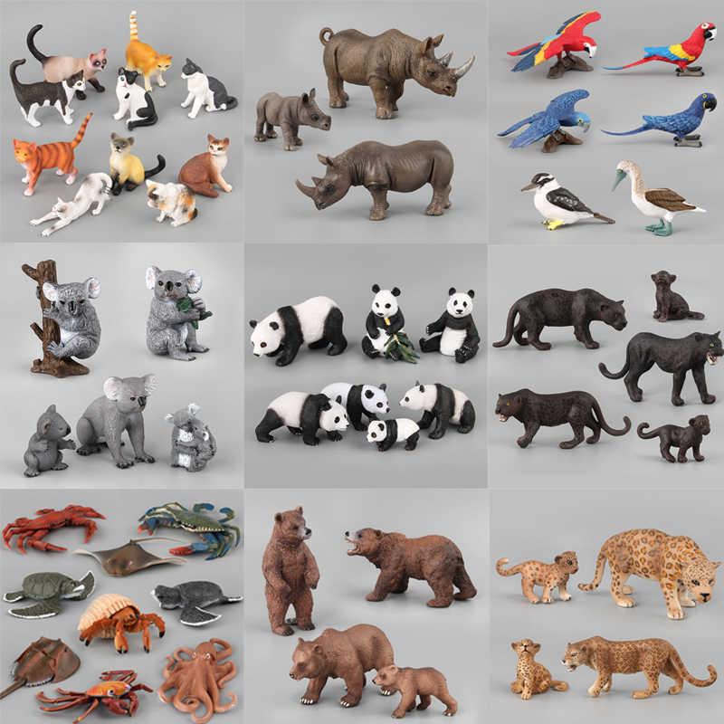 21 estilos de Ação & Toy Figura Animal Dos Animais Selvagens da Pantera Negra PVC Modelo Coleção Collectible Boneca Para Kid Presente Das Crianças Brinquedos f4