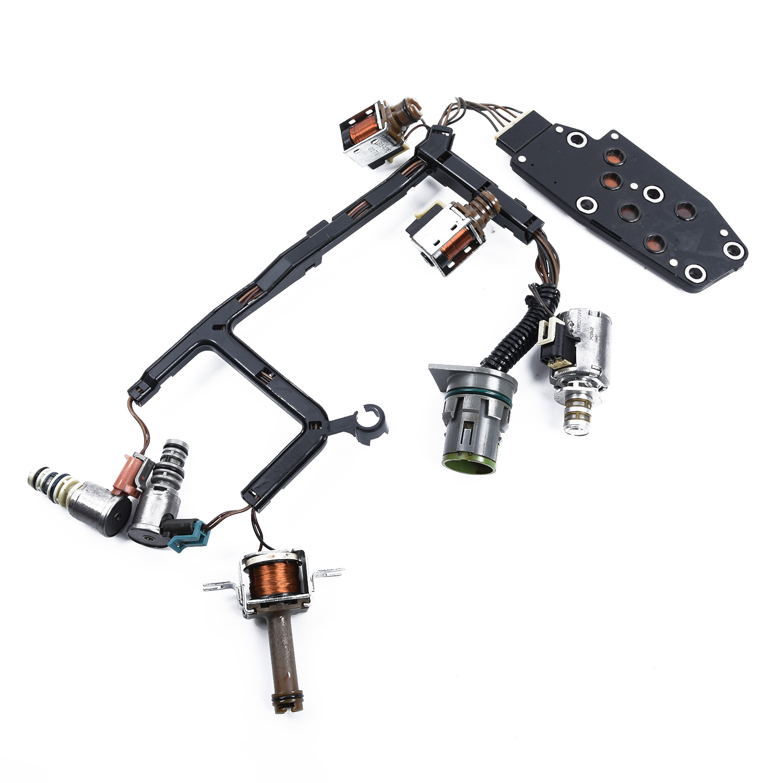 Otomobiller ve Motosikletler'ten Otomatik Şanzıman ve Parçalar'de Evrensel şanzıman ana Solenoid kiti aksesuarları 4L60E TCC EPC PWM Shift title=