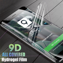 8D Full Cover Hydrogel Film For Samsung Galaxy S9 S10 S8 S7 S6 Edge Plus Screen Protector Note 9 8 Protective