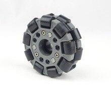 100 مللي متر عجلة أومني بلاستيكية مزدوجة أساسية 14049