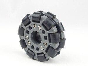 Image 1 - 100mm Double Plastic omni Wheel basic 14049