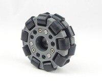 100mm Double Plastic Omni Wheel Basic 14049