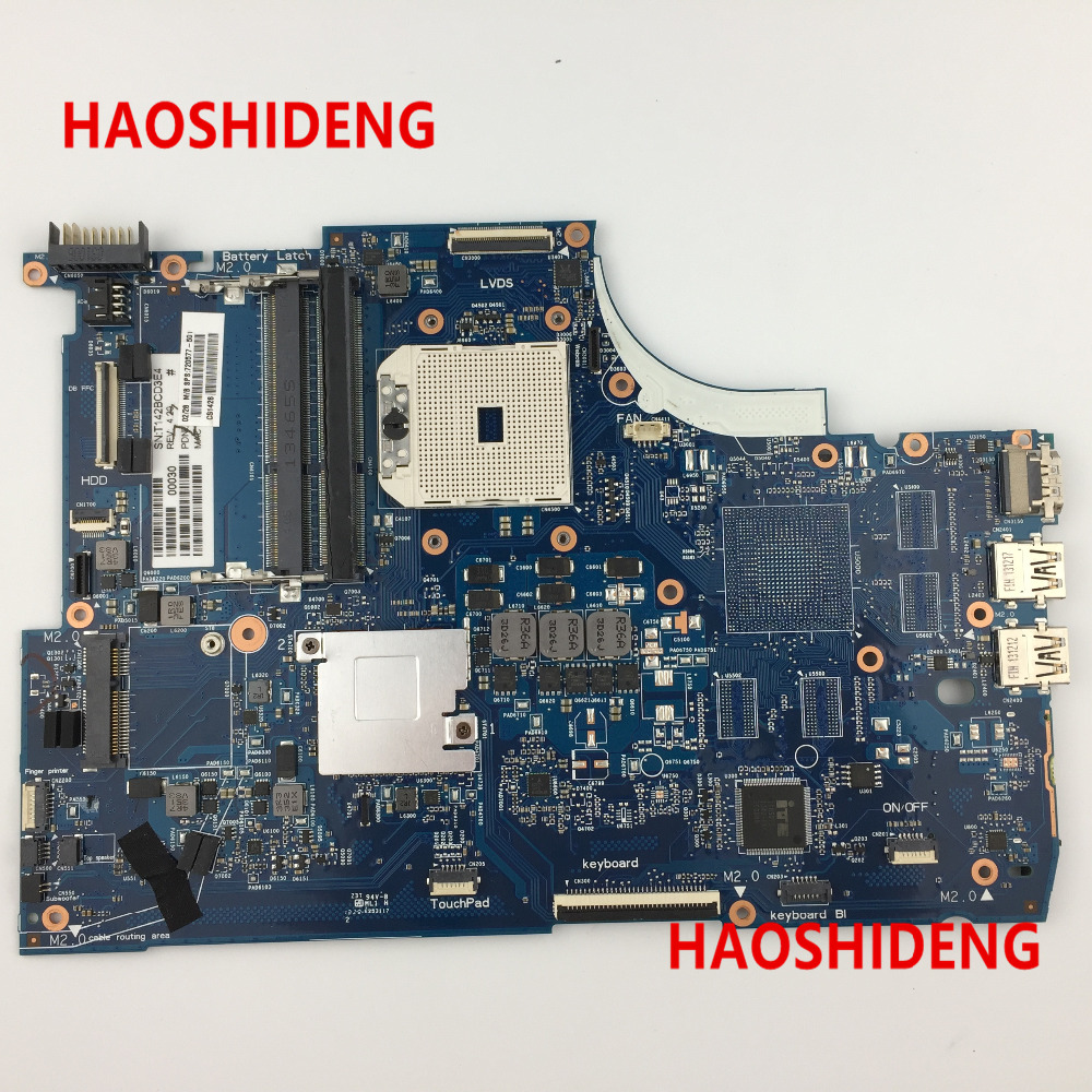 Free Shipping 720577-001 for HP Pavilion 15-J 15Z-J series Motherboard A76M .All functions 100% fully Tested !  free shipping 712794 001 for hp pavilion touchsmart 15 15 b motherboard hm77 i5 3337u all functions 100% fully tested