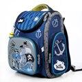 Delune мультфильм школьные рюкзаки для девочек мальчиков рюкзак пиратский детский ортопедический школьный водонепроницаемый рюкзаки, школьн...