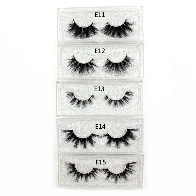 AMAOLASH Eyelashes Mink Eyelashes Thick Natural Long False Eyelashes 3D Mink Lashes High Volume Soft Dramatic Eye Lashes Makeup 2