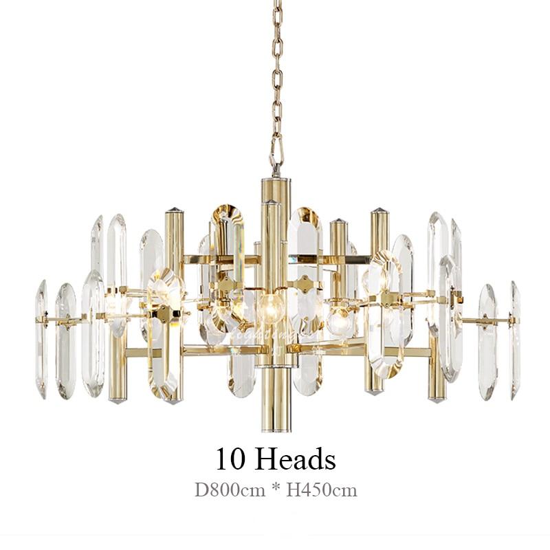 Lámpara colgante de cristal de lujo Lámpara colgante LED K9 Cristal - Iluminación interior - foto 3