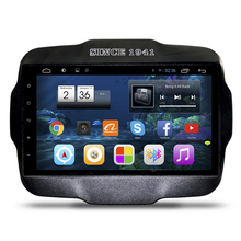 "9 ""Quad Core Android 4.4 1024X600 Radio de Coche DVD GPS de Navegación Multimedia Central para Jeep Renegade 2016 DVR Bluetooth manos libres"