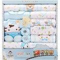 Jhsj-32016 nova 100% algodão roupas de recém-nascidos de verão bebê conjunto caixa de presente produtos do bebê recém-nascido do bebê set 18 pcs para o Infante