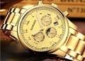 42 мм Sangdo многофункциональные автоматические само-ветряные сапфировые кристаллы высококачественные механические наручные часы Мужские ча...