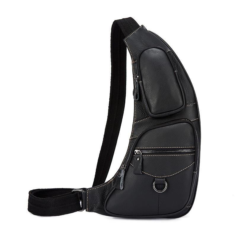 ФОТО 2017 Retro Handbags Genuine Leather Messenger Bags Light Chest Bag Crossbody Shoulder Bag for Man Sacoche Homme Bolsa Masculina