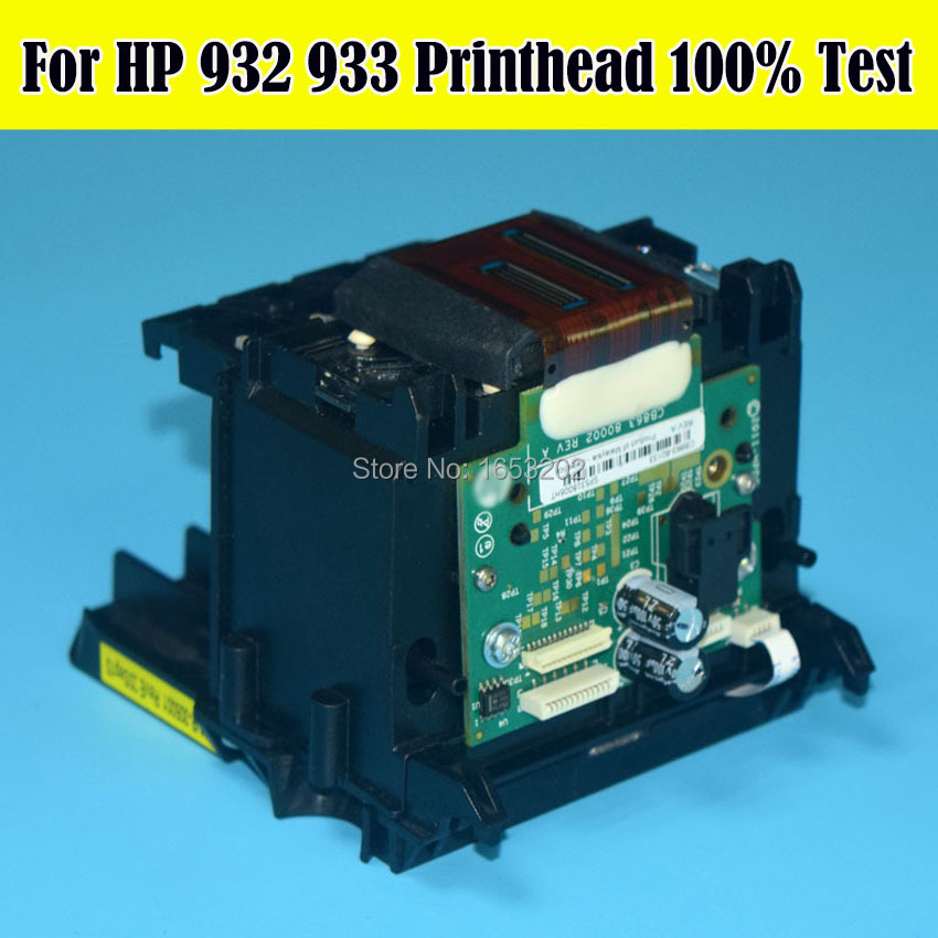 1 PC 100% Test OK Original Printhead For HP 932 933 Print Head For HP 7110 7510 7512 7612 6700 7610 7612 6600 Printer