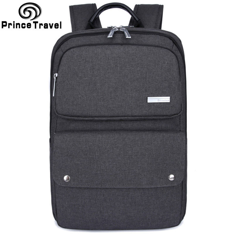 Prince Travel Fashion Men's Business Backpack Laptop High School Bag Backpack Travel Mochila Backpack for Teenagers Boys клип кейс skinbox clip для asus zenfone 3 max zc520tl прозрачный