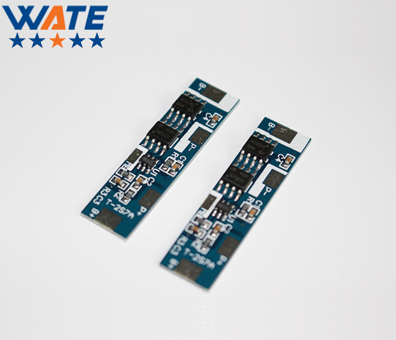 10PCS/LOT Protection Circuit Module 2S 7A BMS PCM PCB Battery Protection Board For 7.4V Polymer lithium - ion battery pack protection circuit 4s 30a bms pcm pcb battery protection board for 14 8v li ion lithium battery cell pack sh04030029 lb4s30a