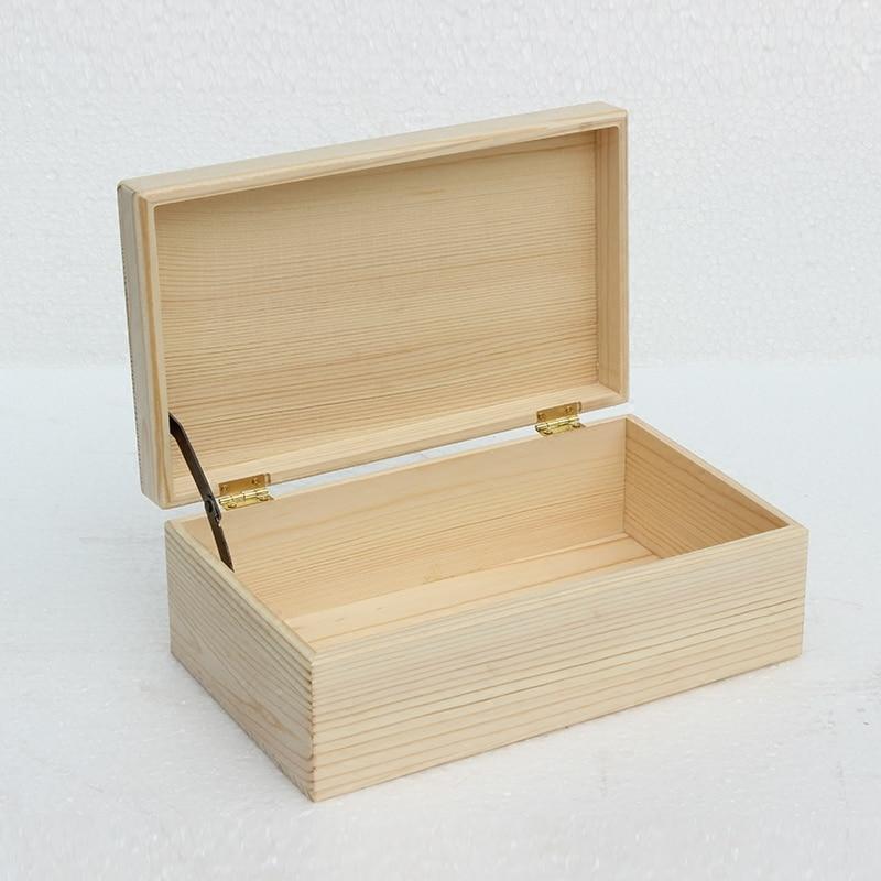 Lagerung Holzkiste Verpackungsprozess Ditty-Bag Desktop erhalten arrangieren Box Creative Store Inhalt Box Kassette