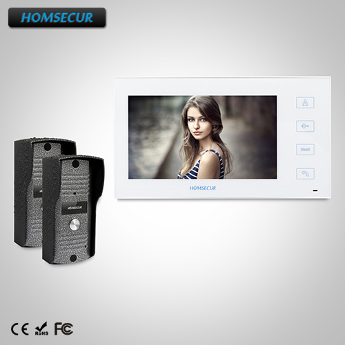 HOMSECUR 7 Wired Video Door Entry Phone Call System+Outdoor Monitoring  : TC031  + TM704-W HOMSECUR 7 Wired Video Door Entry Phone Call System+Outdoor Monitoring  : TC031  + TM704-W