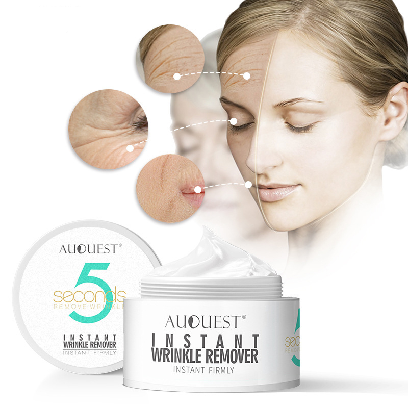 AuQuest 20g Beauty Face Cream 5 Seconds Wrinkle Remover Anti Aging Moisturizer Instant Firming Facial Skin Care Product