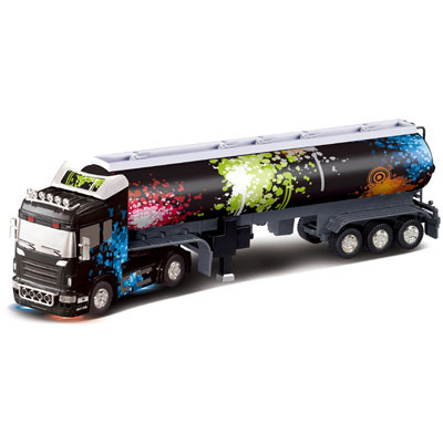 Big Remote Control Big Size Kingtoy 1:32 RC 6CH Container Heavy Truck With  Lights