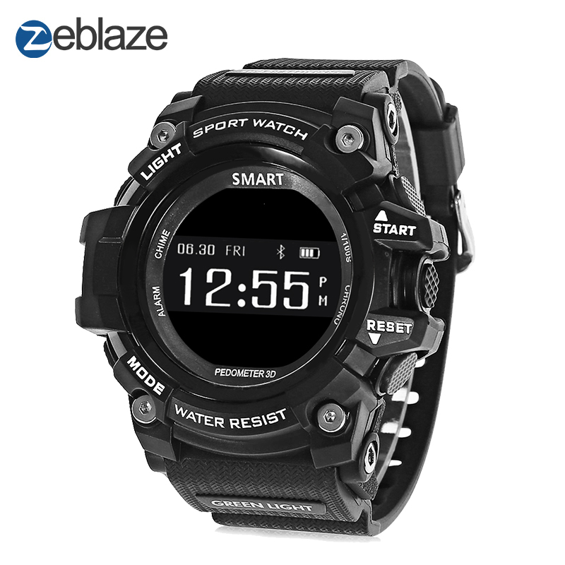 New Zeblaze MUSCLE HR Sports Smartwatch IP67 Waterproof Wearable Device Heart Rate Monitor Bluetooth Smart Watch For Android IOS