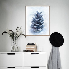 Nordic Style Tropical Plant Fir Canvas Painting Print Poster Picture Home Bedroom Wall Art Painting Decoration Can Be Customized все цены