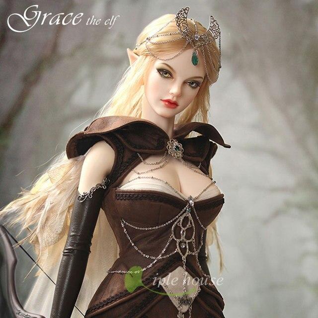 Grace elf bjd sd doll 1/3 body model reborn girls bjd High Quality 4