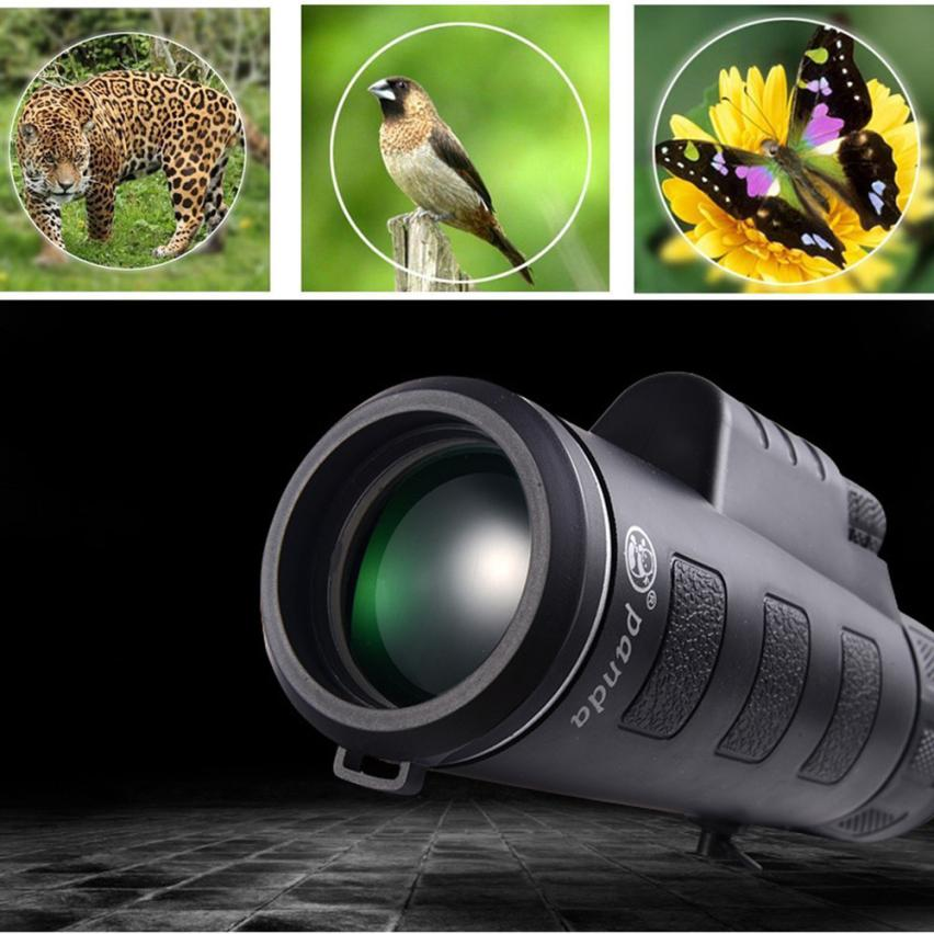 fashion 2018 Super High Power 35X50 Portable HD OPTICS BAK4 Night Vision Monocular Telescope цена
