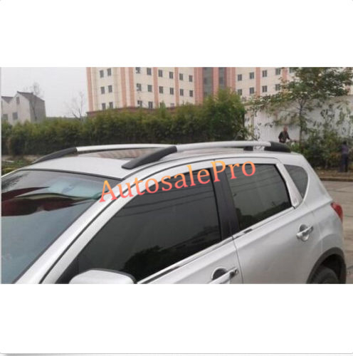 Side Bars Rails Roof Rack Luggage Carrier Bars Decorative For Nissan Qashqai Dualis 2007 2008 2009 2010 2011 2012 2013 factory style car roof rack rails bars black for toyota rav4 2006 2007 2008 2009 2010 2011 2012