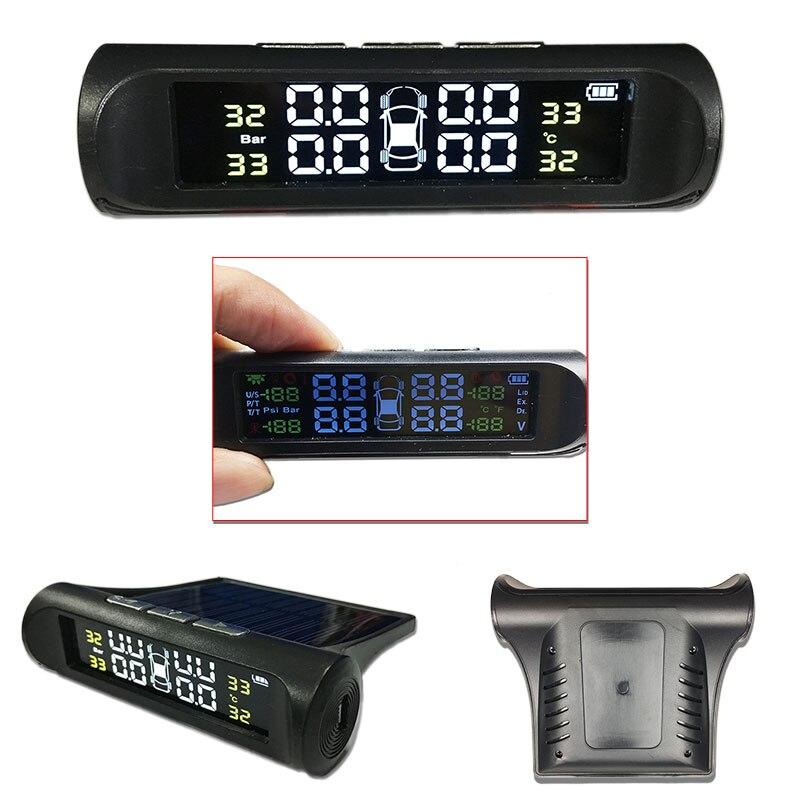 Image 3 - SINOVCLE TPMS датчик давления в шинах сигнализация монитор система внутренний/внешний датчик температуры в шинах беспроводной датчик давления-in Системы контроля внутришинного давления from Автомобили и мотоциклы