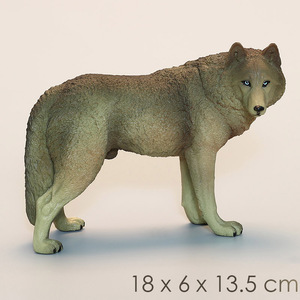 Image 5 - DDWE lupo selvatico modello giocattolo animali antichi selvatici simulazione bambino solido Zoo modello fauna selvatica mondo giocattoli per bambini giocattoli educativi