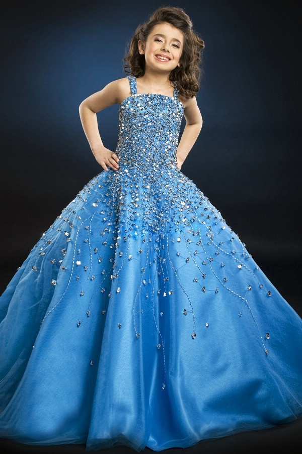 Modern Princess Gowns For Kids Embellishment - Best Evening Gown ...