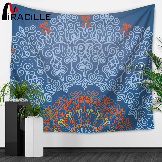Aliexpress.com : Buy Miracille Indian Bedspread Hippie Tapestry ...