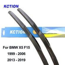Гибридная щетка стеклоочистителя для лобового стекла BMW X5 E53 E70 F15, рычаг заднего стеклоочистителя из натурального каучука, автомобильные аксессуары 2003 2007 2008