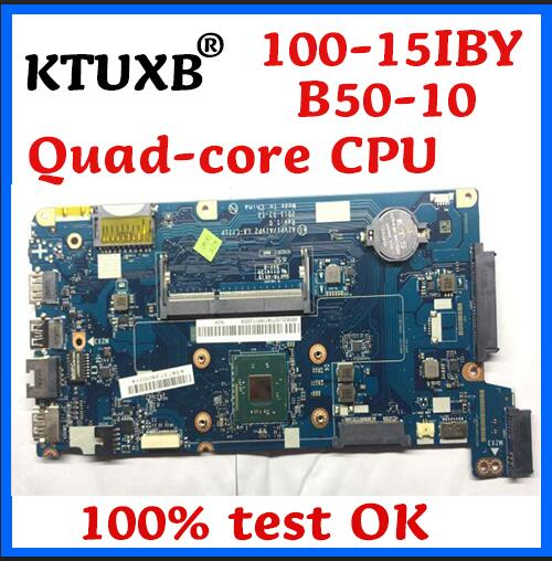 KTUXB AIVPI / AIVP2 LA-C771P For Lenovo 100-15IBY B50-10 Notebook Motherboard 5B20J30778 5B20J30714 CPU N3540 100% Test Work