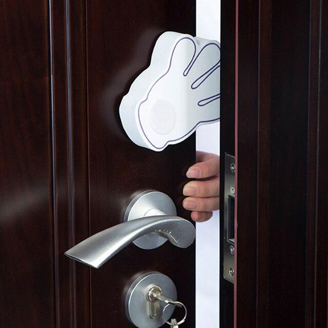Baby Safety Lock Kids Child Hand Shape Door Lock Children Protection  Cabinet Locks Cupboard Security Door