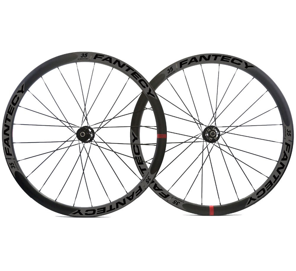 700C 38mm depth road bike disc brake carbon wheels 25mm width Clincher/tubular cyclocross carbon wheelset with Novatec hub black spokes 20h 24h road bike 700c carbon alloy wheels 38mm clincher with black novatec hubs a291 f482sb