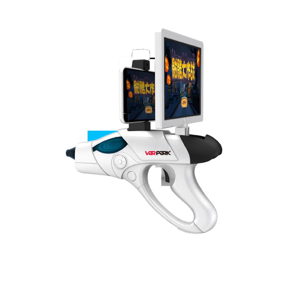 AR Gun Toy 4D Remote Sensing Game Gamepad Smart Bluetooth Pistol w Phone Holder VR Game Handle Gun Outdoor Toys for Android IOS in Toy Guns from Toys Hobbies