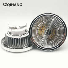 купить LED AR111 lamp 15W GU10 led AR111 light ES111 Dimmable COB LED spotlight for Grille Lamp Aluminum alloy Body DC12V/ AC85-265V по цене 11141.99 рублей