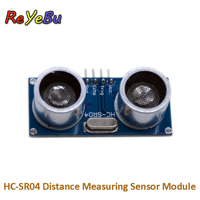 <font><b>HC</b></font>-<font><b>SR04</b></font> Ultrasonic Distance Measuring Transducer Accurate Measurement Distance <font><b>Sensor</b></font> Module image