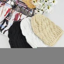 Hot  Women's Winter Crochet Wool Braided Baggy Beanie Cap Hat Retail/Wholesale  5BQJ 7EPG