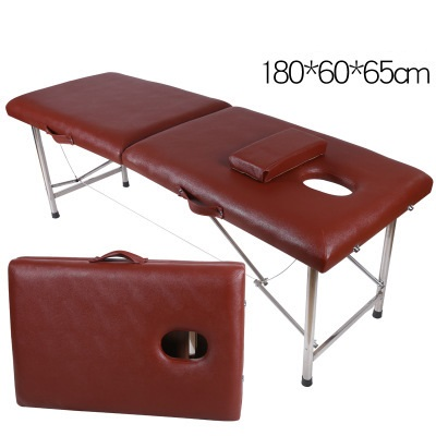 Image 3 - Stable Professional Spa Massage Tables Foldable Salon Furniture PU Bed Thick Beauty Massage Table-in Massage Tables from Furniture