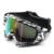 Nuevas gafas de sol de protección uv a prueba de polvo anteojos de la motocicleta de la vendimia dirt bike moto casco ski snowboard gafas motocross gafas
