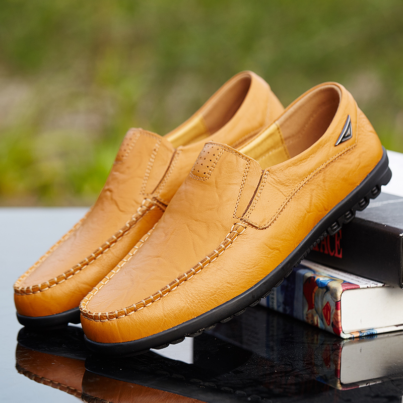 Valstone Популярни Кожени Обувки Мъжки - Мъжки обувки - Снимка 4