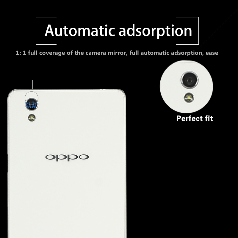 Ultra-thin Back Camera Lens Tempered Glass Film For OPPO A51 5.0 Rear Camera Lens Protective Film Glass With Cleaning Tools