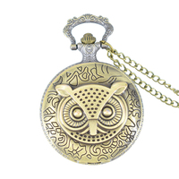 Cindiry retro bronze dial 4 7 cm steampunk stylish owl pocket watches pendant necklace fob watch.jpg 200x200