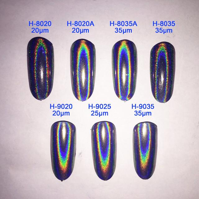 MEJOR! 10g Polvo Holográfico Nail Espejo Cromo En Polvo Polvo de Uñas Esmalte de Uñas Glitter Lentejuelas Láser Unicornio Pigmento para Uñas