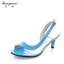 2017 Hot Sale Elegant Buckle Sandals Fashion Bohemia Women's Heel Dress Causal