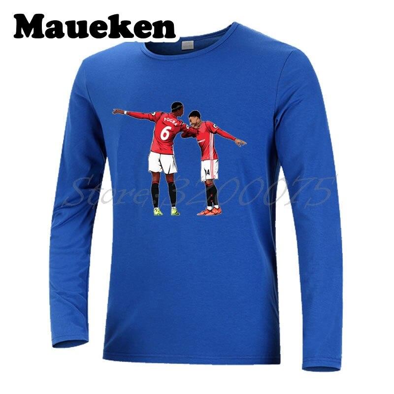 the latest 6f570 4d4b5 Men Long Sleeve Dab Paul Pogba 6 Jesse Lingard Celebration ...