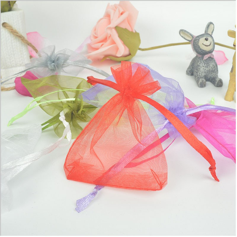 Jewellery Candy Wedding Drawstring Gift Plain Bag Pounch Bags Birthday Party Christmas New Year
