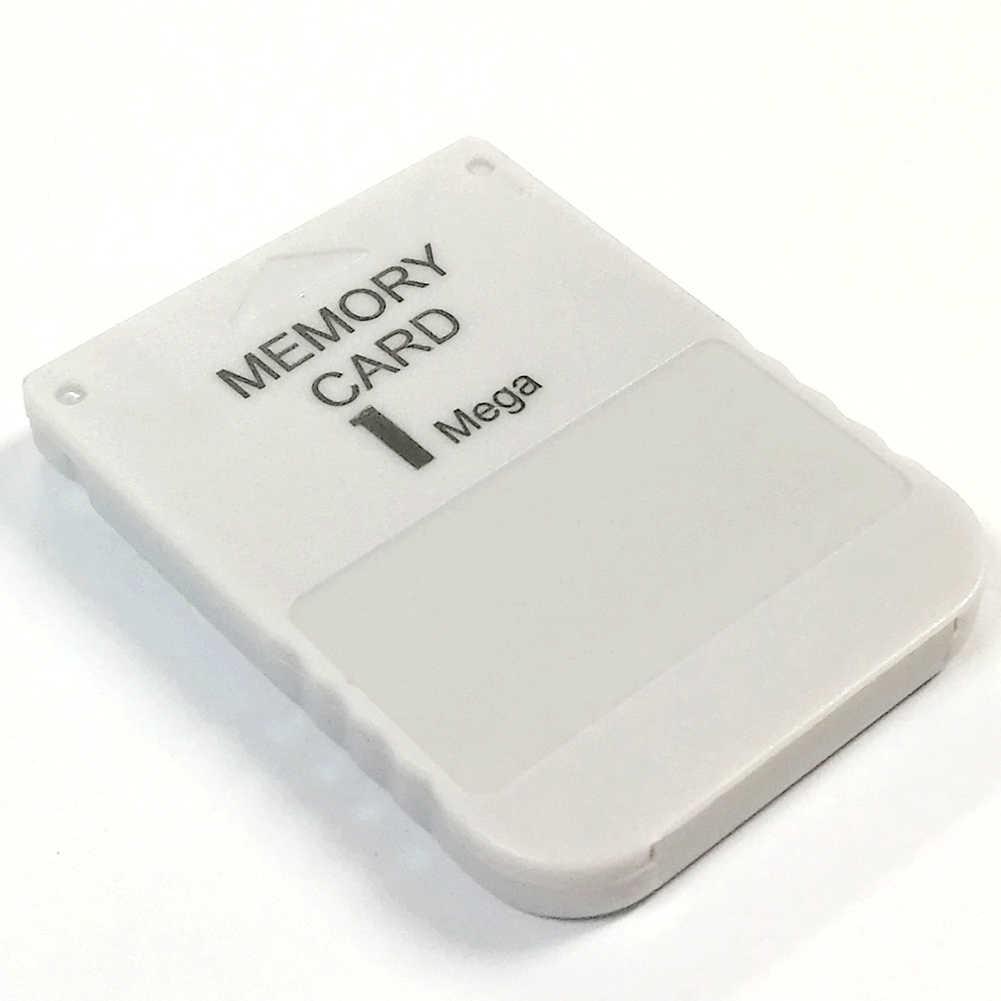 1 mb 전문 어댑터 플러그 스토리지 게임 고속 미니 데이터 ps1 용 내구성 메모리 카드 모듈 저장
